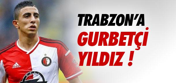 Trabzon'a gurbetçi yıldız !