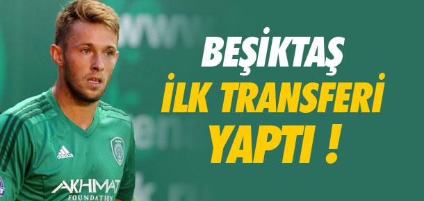 Beşiktaş ilk transferi yaptı !