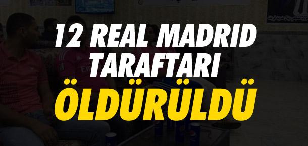 IŞİD 12 Real Madrid taraftarını öldürdü