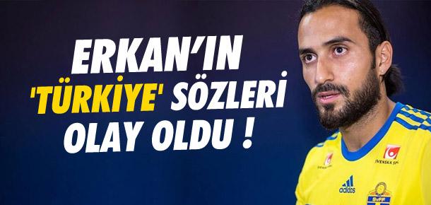 Erkan Zengin'in 'Türkiye' sözleri olay oldu