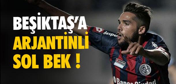 Beşiktaş'a Arjantinli sol bek !