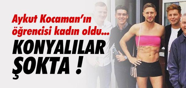 Konyasporlu Douglas kadın oldu !