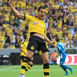 Mkhitaryan Dortmund'u reddetti !