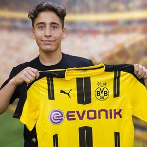Emre Mor Borussia Dortmund'da !