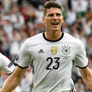 Mario Gomez attı, Almanya kazandı