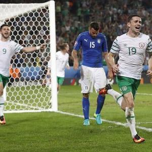 TRT spikeri İrlanda'nın golüne sevindi