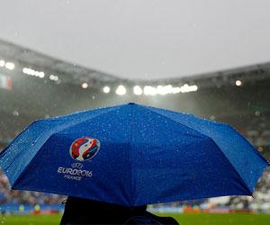 Hava şartları EURO 2016'yı zorluyor