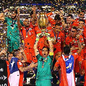Copa America' Şili'nin !