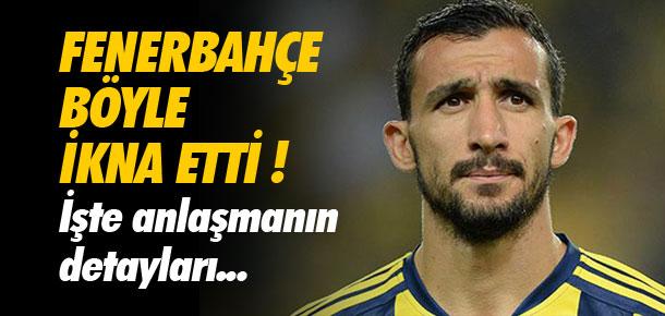 Fenerbahçe Topal'ı böyle ikna etti !