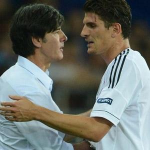 Löw'den Mario Gomez'e büyük övgü
