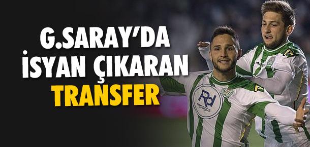 Galatasaray'da isyan çıkaran transfer