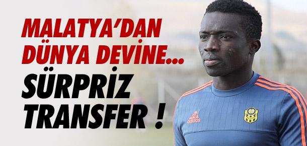 Yeni Malatyaspor'dan Monaco'ya !