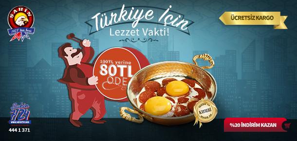 Türkiye için lezzet vakti