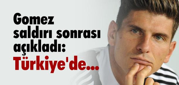 ''Türkiye için çok üzgünüm''