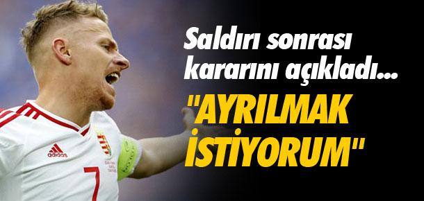 ''Türkiye'den ayrılmak istiyorum''