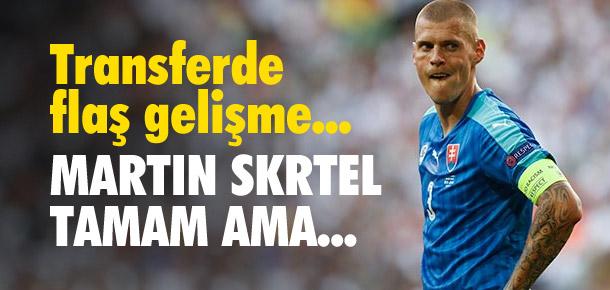 Martin Skrtel'e UEFA engeli