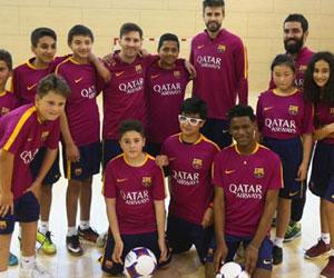 Messi ile Arda'dan sürpriz