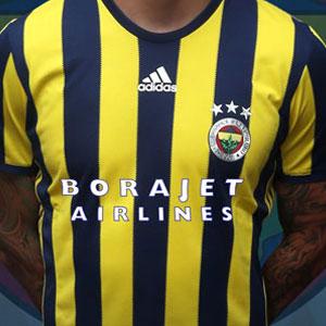 Fenerbahçe'nin göğüs sponsoru Borajet oldu !