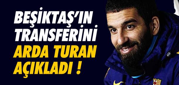 Arda Turan, Adriano'yu açıkladı