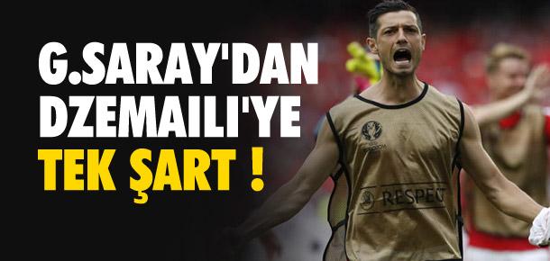 Galatasaray'dan Dzemaili'ye tek şart