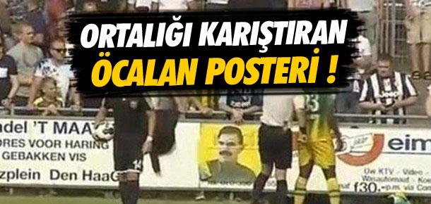 Karabükspor maçında Öcalan posteri !
