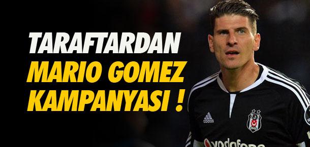 Beşiktaş taraftarından Mario Gomez kampanyası