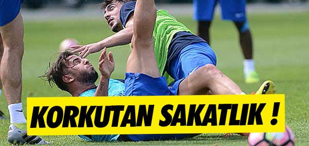 Trabzon'da korkutan sakatlık !