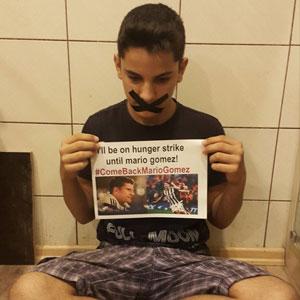 Gomez için açlık grevi !
