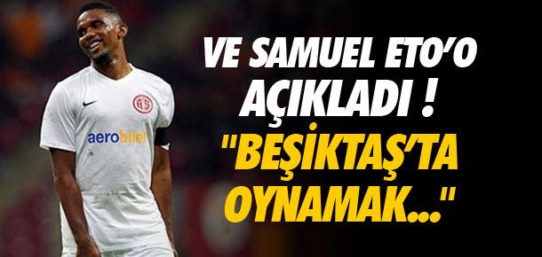 ''Beşiktaş'ta oynamak istiyorum''