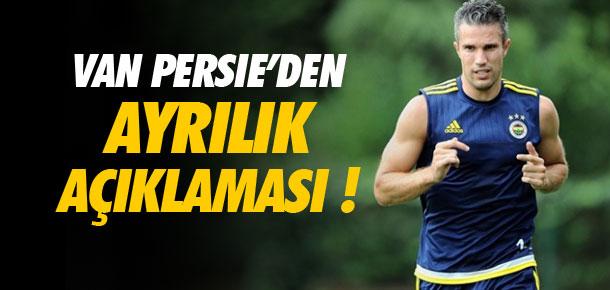 Robin van Persie Fenerbahçe kararını verdi