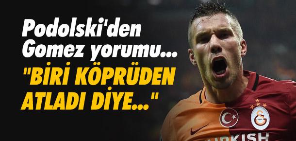 Podolski'den Mario Gomez yorumu