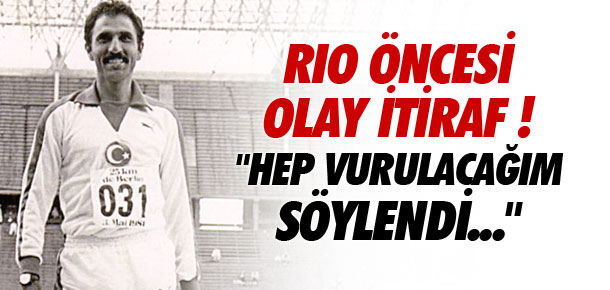 Rio Olimpiyatları öncesi olay itiraf !
