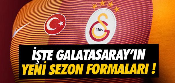 İşte Galatasaray'ın 2016-2017 sezonu formaları !