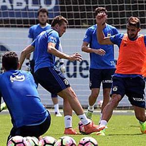 Fenerbahçe'de Monaco hazırlıkları