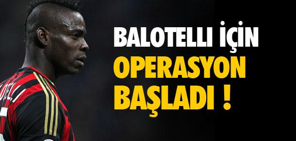 Beşiktaş'tan Balotelli operasyonu !