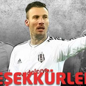 Beşiktaş'tan Delgado'ya teşekkür