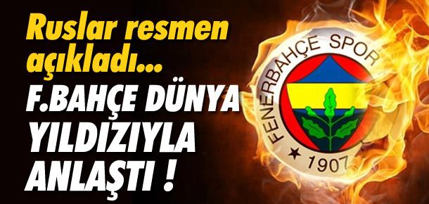 Ruslar Fenerbahçe'nin yeni 10 numarasını açıkladı