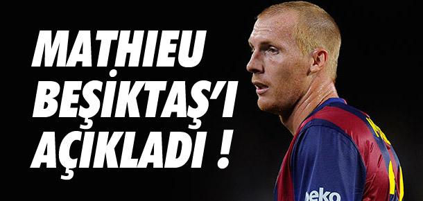 Mathieu'dan Beşiktaş açıklaması