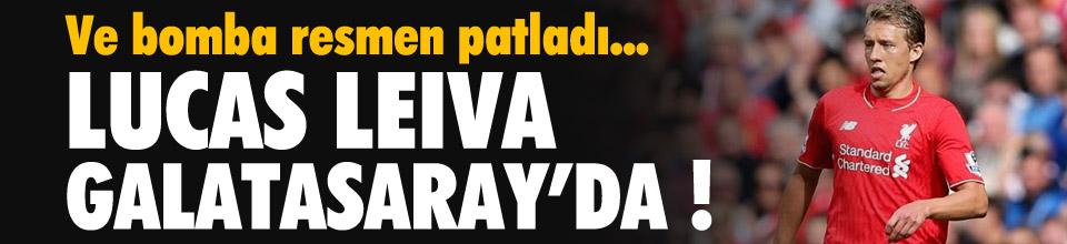 Lucas Leiva Galatasaray'da