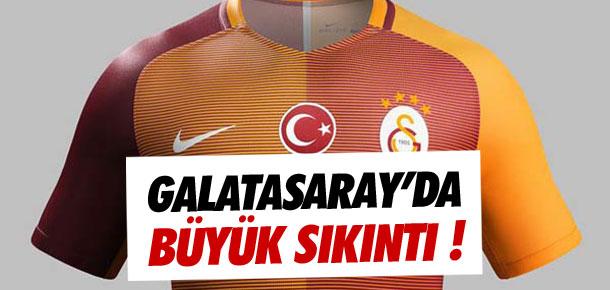 Galatasaray'da büyük sıkıntı !
