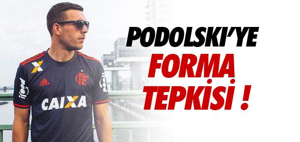 Podolski'ye forma tepkisi !