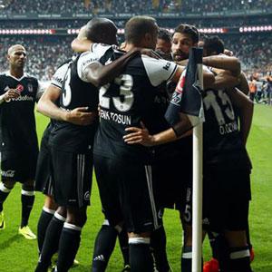 Beşiktaş şov yaptı !
