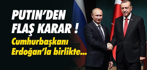 Vladimir Putin, Türkiye'ye geliyor