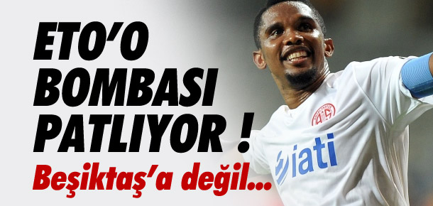 Galatasaray'dan Beşiktaş'a Eto'o çalımı