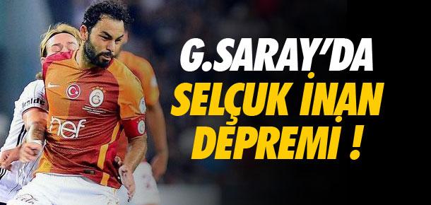 Galatasaray'da Selçuk İnan depremi !