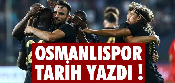 Osmanlıspor - Midtjylland: 2-0