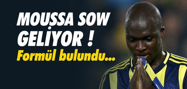 Moussa Sow için formül bulundu !