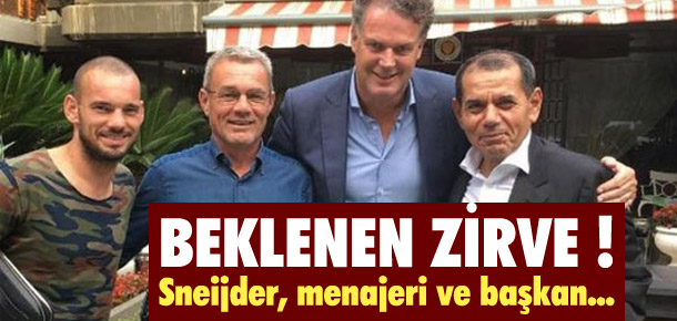 Galatasaray'da beklenen zirve
