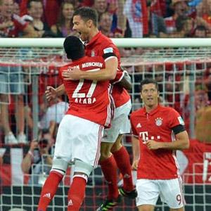 Bayern Münih yarım düzine gol attı
