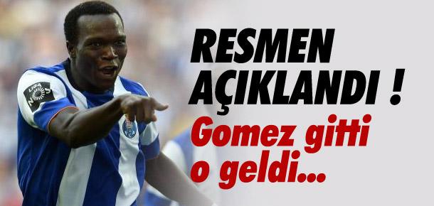 Beşiktaş Vincent Aboubakar'ı borsaya bildirdi